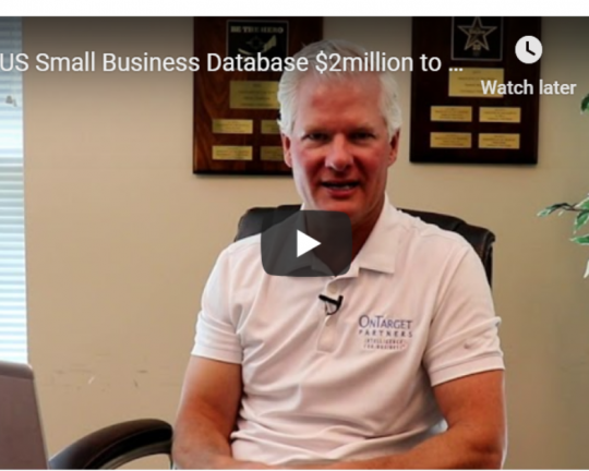 U.S. Small Business, Company Database Builder Tool, 08-19-2020
