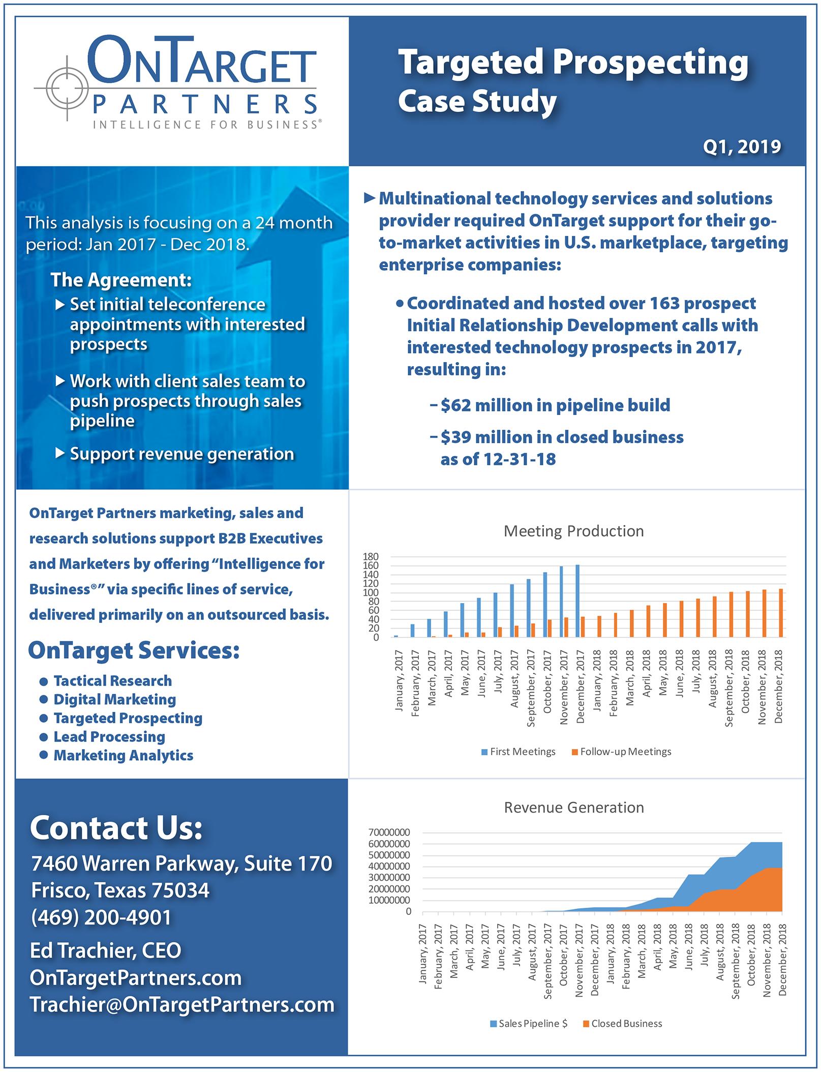 OnTargetTargetedProspectingMultinationalTechnologyServicesCaseStudy01-2019